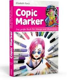 Elisabeth Poniz: Copic Marker, Buch