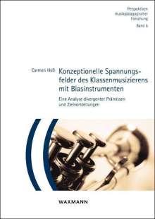 Carmen Heß: Konzeptionelle Spannungsfelder des Klassenmusizierens mit Blasinstrumenten, Buch