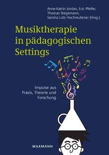 Musiktherapie in pädagogischen Settings, Buch