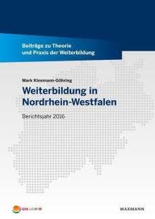 Mark Kleemann-Göhring: Weiterbildung in Nordrhein-Westfalen, Buch