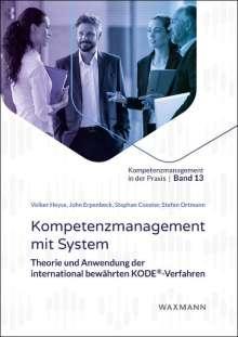 Volker Heyse: Kompetenzmanagement mit System, Buch