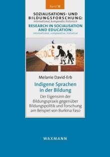 Melanie David-Erb: Indigene Sprachen in der Bildung, Buch