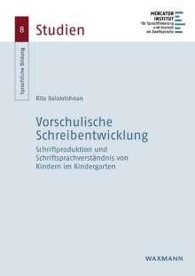 Rita Balakrishnan: Vorschulische Schreibentwicklung, Buch