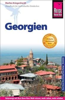 Marlies Kriegenherdt: Reise Know-How Reiseführer Georgien, Buch