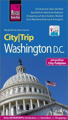 Margit Brinke: Reise Know-How CityTrip Washington D.C., Buch