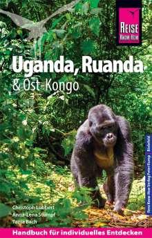 Christoph Lübbert: Reise Know-How Reiseführer Uganda, Ruanda, Ost-Kongo, Buch