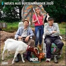 Neues aus Büttenwarder 2020 - Broschürenkalender - Wandkalender - Format 30 x 30 cm, Diverse