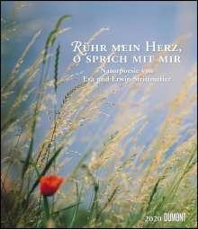Erwin Strittmatter: Rühr mein Herz, o sprich mit mir 2020 - Literarischer Kalender - Wandkalender im Format 34,5 x 40 cm - Spiralbindung, Diverse