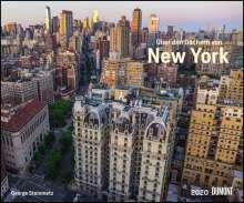 Über den Dächern von New York 2020  - Städte-Reise-Kalender - Querformat 58,4 x 48,5 cm - Spiralbindung, Diverse