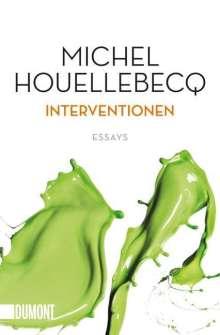 Michel Houellebecq: Interventionen, Buch