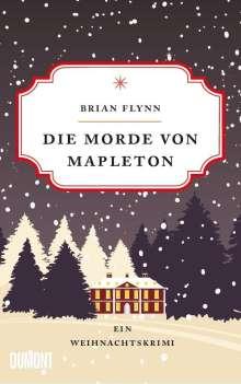 Bryan Flynn: Die Morde von Mapleton, Buch