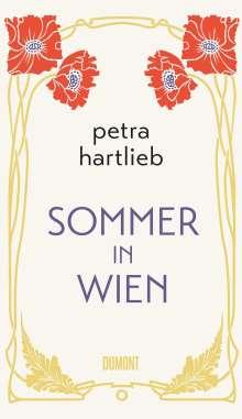 Petra Hartlieb: Sommer in Wien, Buch