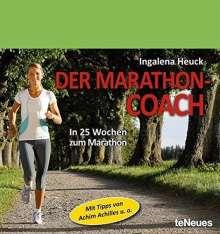 Ingalena Heuck: Der Marathon-Coach. Immerwährender Tagesabreißkalender, Diverse