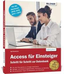 Inge Baumeister: Access für Einsteiger - für die Versionen 2019, 2016, 2013 und 2010, Buch