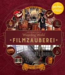 Burton Bonnie: J. K. Rowlings magische Welt: Wizarding World(TM): Filmzauberei, Band 3: Magische Objekte aus den Filmen, Buch