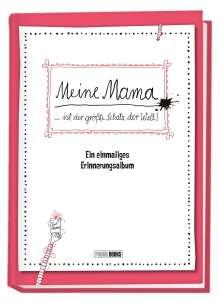 Panini: Meine Mama ... ist der größte Schatz der Welt! - Ein einmaliges Erinnerungsalbum, Buch