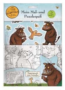 Panini: Der Grüffelo: Mein Mal- und Puzzlespaß, Buch