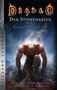 Richard A. Knaak: Diablo: Sündenkrieg Buch 1 - Geburtsrecht, Buch