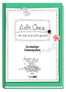 Panini: Liebe Oma ... das habe ich für dich gemacht! - Ein einmaliges Erinnerungsalbum, Buch
