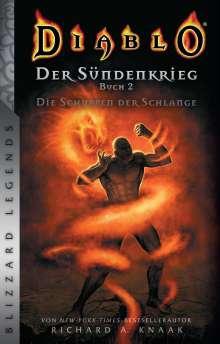 Richard A. Knaak: Diablo: Sündenkrieg Buch 2 - Die Schuppen der Schlange, Buch
