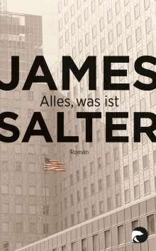 James Salter: Alles, was ist, Buch