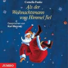 Cornelia Funke: Als der Weihnachtsmann vom Himmel fiel. 3 CDs, CD