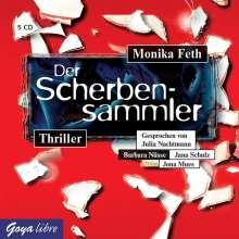 Monika Feth: Der Scherbensammler, 5 CDs