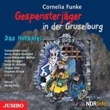 Cornelia Funke: Gespensterjäger in der Gruselburg, CD