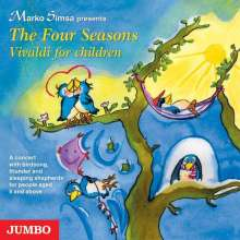 Marko Simsa: Four Seasons / Vivaldi for children, CD