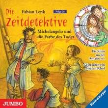 Fabian Lenk: Die Zeitdetektive 20. Michelangelo und die Farbe des Todes, CD