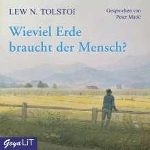 Leo N. Tolstoi: Wieviel Erde braucht der Mensch?, CD