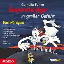 Cornelia Funke: Gespensterjäger in großer Gefahr, CD