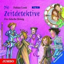 Fabian Lenk: Die Zeitdetektive 22. Der falsche König, CD