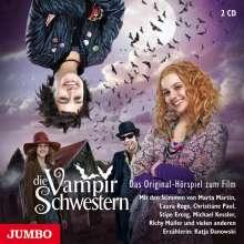 Franziska Gehm: Die Vampirschwestern., 2 CDs