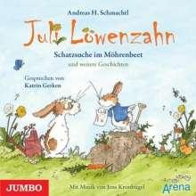 Andreas H. Schmachtl: Juli Löwenzahn. Die Schatzsuche im Möhrenbeet und weitere Geschichten, CD