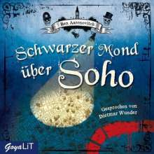 Ben Aaronovitch: Schwarzer Mond über Soho, 3 Audio-CDs, 3 CDs