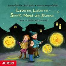 Bettina Göschl: Laterne, Laterne - Sonne, Mond und Sterne, CD