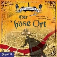 Ben Aaronovitch: Der böse Ort, 3 Audio-CDs, 3 CDs