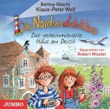 Bettina Göschl: Die Nordseedetektive (1) Das geheimnisvolle Haus am Deich, CD
