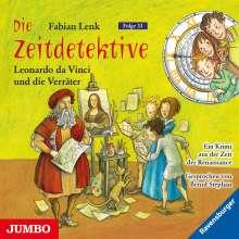 Die Zeitdetektive 33. Leonardo da Vinci und die Verräter, CD