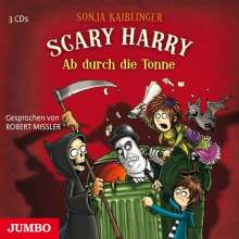 Scary Harry 4.Ab Durch Die Tonne, 3 CDs