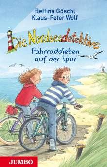 Klaus-Peter Wolf: Die Nordseedetektive (4). Fahrraddieben auf der Spur, Buch