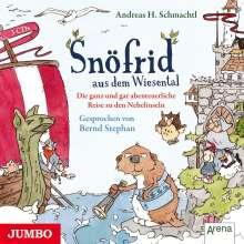 Andreas H. Schmachtl: Snöfrid aus dem Wiesental 02. Die ganz und gar abenteuerliche Reise zu den Nebelinseln, CD