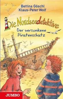 Klaus-Peter Wolf: Die Nordseedetektive (5) - Der versunkene Piratenschatz, Buch