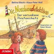 Klaus-Peter Wolf: Die Nordseedetektive (5) Der versunkene Piratenschatz, CD