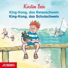 Kirsten Boie: King-Kong, das Reiseschwein & King-Kong, das Schulschwein, CD