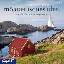 Viveca Sten: Mörderisches Ufer [8], 4 CDs