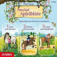 Pippa Young: Ponyhof Apfelblüte, 3 CDs