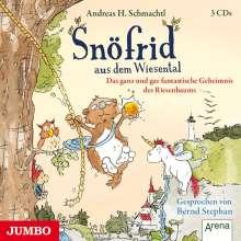 Andreas H. Schmachtl: Snöfrid aus dem Wiesental 03. Das ganz und gar fantastische Geheimnis des Riesenbaums, 3 CDs