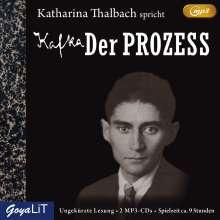 Franz Kafka: Der Prozess, 2 CDs